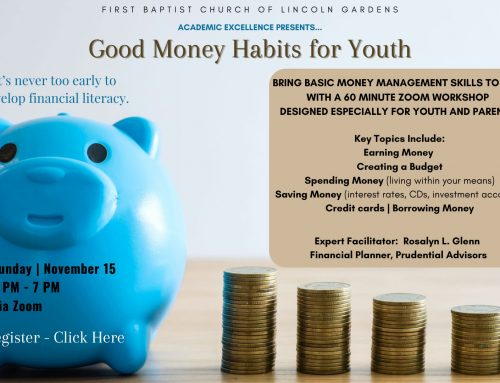 Good Money Habits For Youth